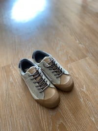 Zara - Kids Casual Sneaker (Size 13) - Gray/Light Brown Washington, 20011