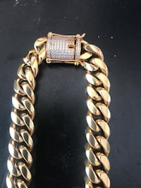Stainless steel Miami Cuban Link  McAllen
