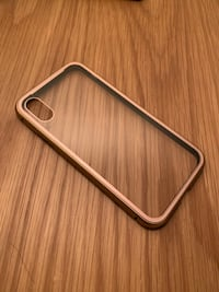 Metal magnetic IphoneXS case  [double-sided tempered glass] Richmond Hill