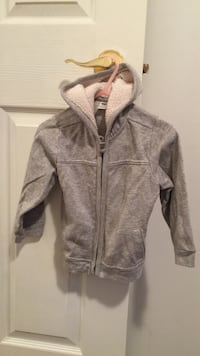 gray zippered hoodie North Vancouver, V7H 1Y2