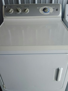 white front load cloth dryer