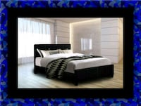 Twin platform bed with mattress Ashburn