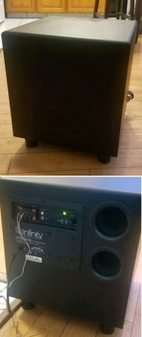 Infinity 12in powered subwoofer sub speaker  Long Beach, 90802