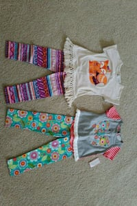 2 Emily Rose outfits, 3t, new Warrenton