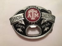 Officially licensed Texas A&M bottle opener belt buckle Katy, 77449