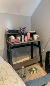 Desk, i have two one is assembled and one isnt