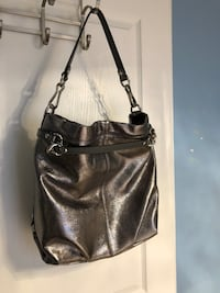 Metallic coach leather bag  Vaughan, L4H 0M3