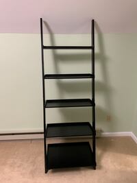 5 tier ladder shelf.
