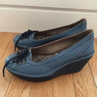 FLY London Leather Wedge Shoes (Size 37)  Oakville, L6H 7W3