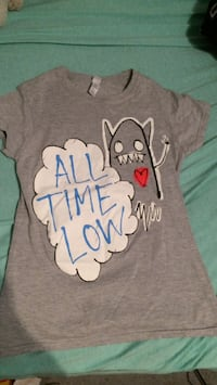 All time low t-shirt Calgary