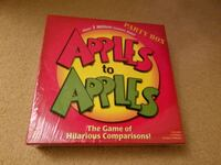Brand New Sealed Apple to Apples Party Box for 4-10 Players Ages 12Y+  Germantown, 20876