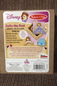 """""""Sofia the First""""wooden mix & match puzzle, ages 3+"""