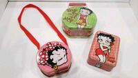 Betty Boop Tin collection - 3pcs Central Point