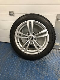 A set of Uniroyal winter tires (4 plus 1 spare) Vaughan