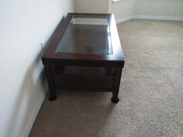 Cherry wood coffee/ cocktail table