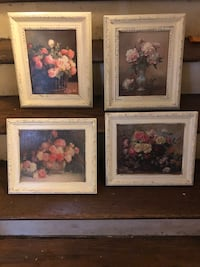 Floral paintings with frames  Huntington, 25704