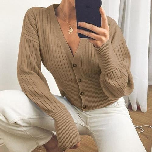 Women Knitted Cardigans