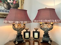 Table Lamps and matching picture frames Toronto, M2H 2N9