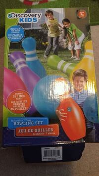 Inflatable Bowling set - new