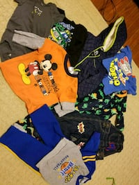 toddler's assorted clothes Silver Spring, 20906