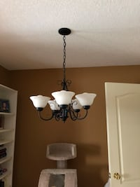 black and white uplight chandelier New Tecumseth, L9R 0A6