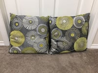 green, yellow, and white floral throw pillow St Albert, T8N 4T9