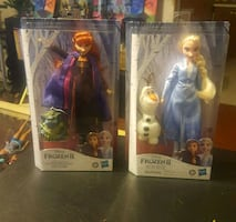 Frozen 2 Hasbro Dolls Ana & Else doll & Coloring and activity book