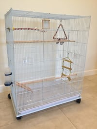 Large Flight Bird Cage Bundle with Toys & Accessories BRAND NEW Los Angeles, 91402