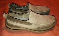 pair of brown leather slip on shoes Austin, 78759