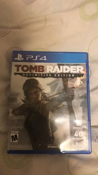 Sony PS4 Tomb Raider game case District Heights, 20747