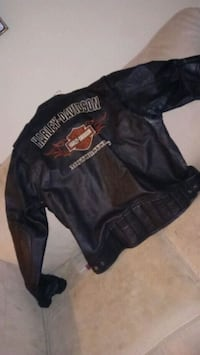black and red Harley-Davidson leather jacket Chattanooga, 37412