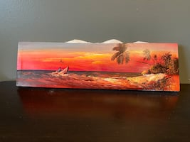 Sunset canvas