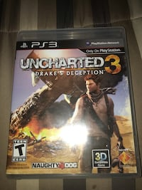 Ps3 Uncharted 3 Fort Washington, 20744
