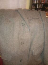 Vintage 1960s men's top coat tailored in Charles Town West Virginia Martinsburg