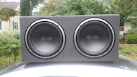 black and gray Pioneer subwoofer Riverdale, 20737
