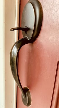 Oiled Bronze Front Entry Handle  Avondale, 19311