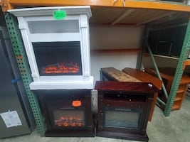 Small Electric Mantle Fireplaces with Heaters