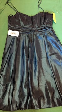 black and gray spaghetti strap dress Hagerstown, 21740