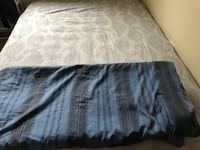 black and white bed sheet Bel Air, 21014