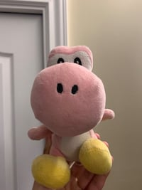 Pink Yoshi Mario plush buy 1 thing in my store and get this free
