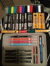 Art supplies , almost 200 dollars worth, some used be time minimal just to check em out Edmonton, T5Y