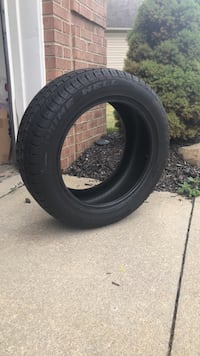 black auto tire with tire Strongsville, 44149