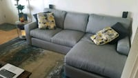 New Couch - Living Spaces Bowen Sectional Redondo Beach, 90277