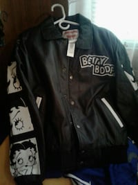 black and white Betty BOOP Leather jacket  Silver Spring, 20904