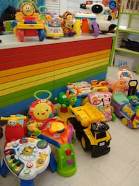 Ride-ons, learning tables, walkers and rocking toys for infants Etobicoke