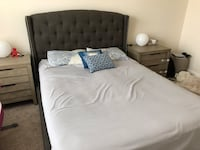 Queen size bed frame and headboard  Vienna, 22180