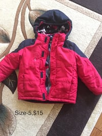Boys new and barely used jackets  Mississauga, L5W 1J6