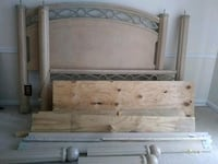 brown wooden bed headboard and footboard Columbus, 31909
