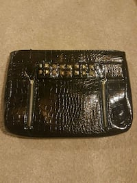 black crocodile skin leather wristlet Kitchener, N2P