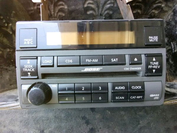 Bose stock nissan stereo unit